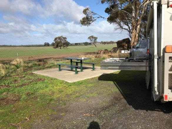 Annette Rawnsley - lunch stop out of Nhill