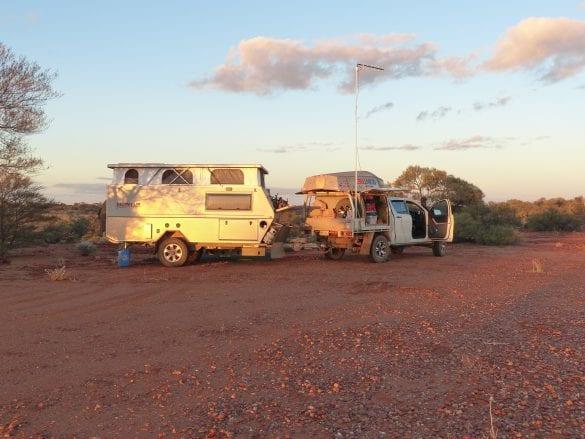 Peter & Narelle Mills - Bushcamp near Gary Junction Rd WA