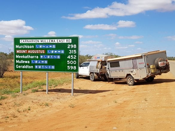 Peter & Narelle Mills - Nearly 300km from 'anywhere' much